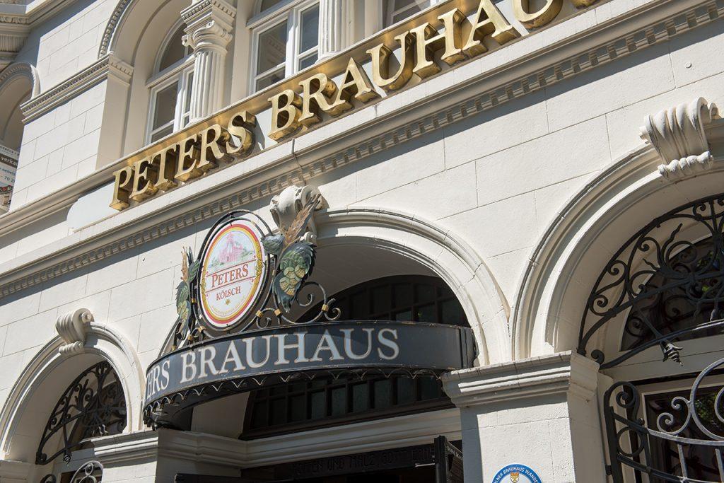 Eingang von Peters Brauhaus
