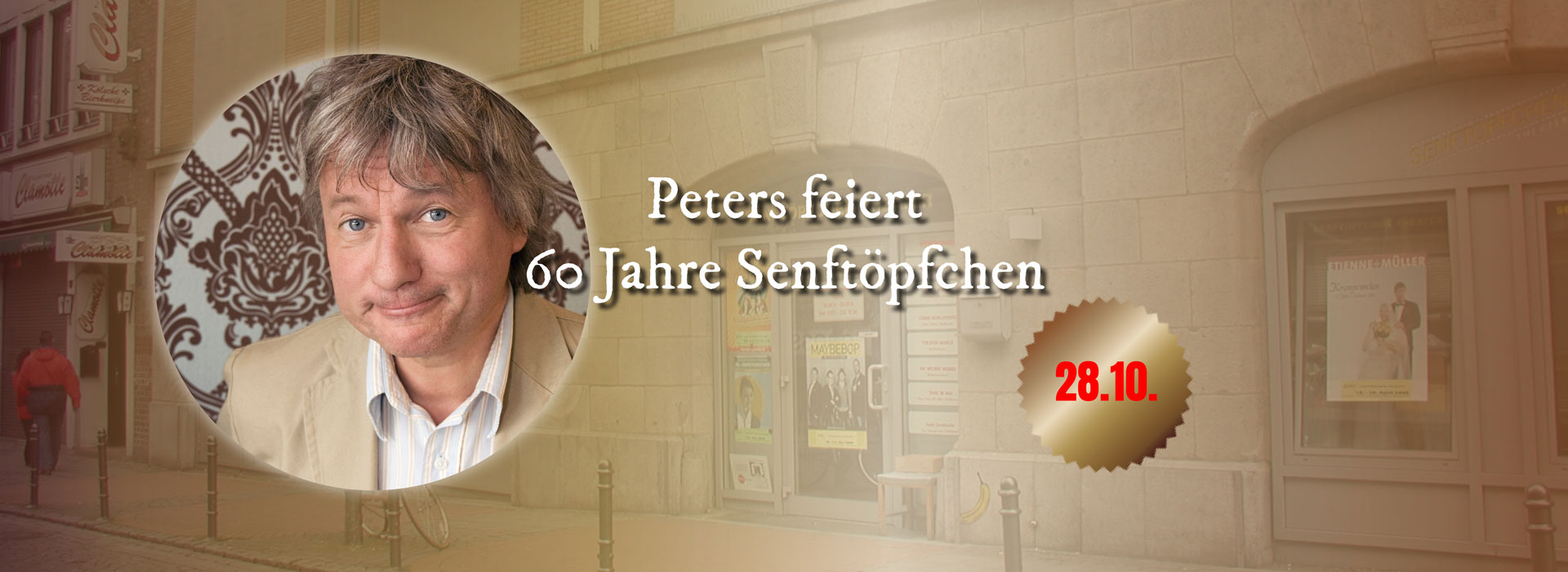 Aktion mit Jürgen Becker